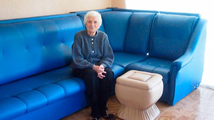 Жильцы пансионата для пожилых «Пристань»