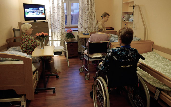 Комната постояльцев пансионата «Русь» Моховая