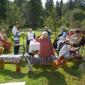 Чаепитие жильцов пансиона «Софийская усадьба»