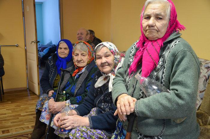 Постояльцы пансионата «Старость-радость»