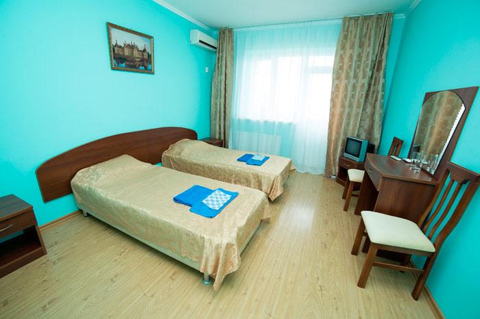 Комната постояльцев пансионата для пожилых «Vitadimare»