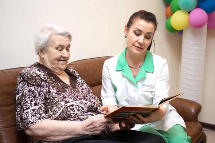Персонал пансионата для пожилых «Всеволожский»