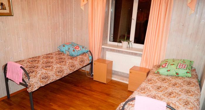 Комната жильцов дома престарелых «Заботливые руки»