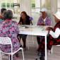 Веранда дома престарелых «Молоково»