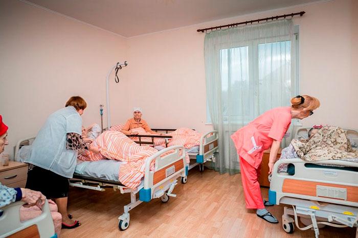 Комната постояльцев дома престарелых «Нагатино»