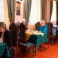Обед постояльцев дома престарелых в Мичуринском