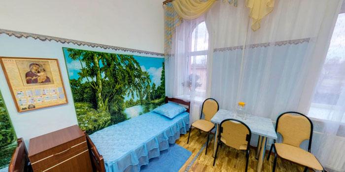 Комната постояльцев егорьевского дома-интерната