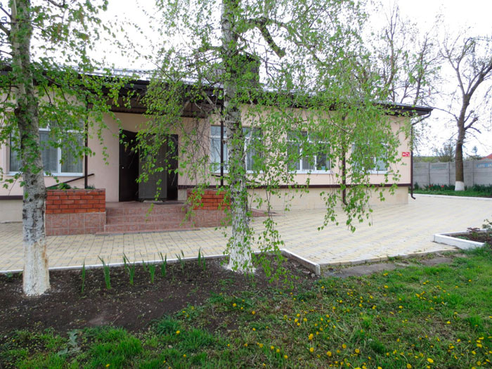 Территория Гиагинского дома-интерната для граждан пожилого возраста