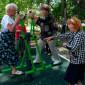 ЛФК жильцов Клинского центр реабилитации инвалидов «Импульс»