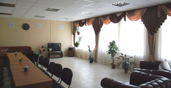 Актовый зал Лавровского дома-интерната для престарелых и инвалидов