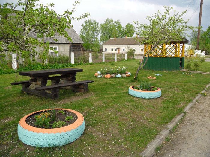 Территория Лавровского дома-интерната для престарелых и инвалидов