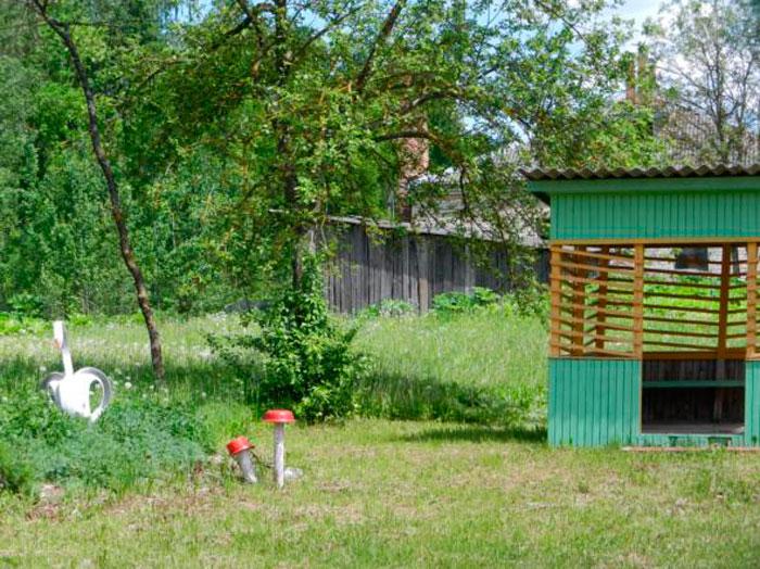 Территория Линовского дома-интерната для престарелых и инвалидов