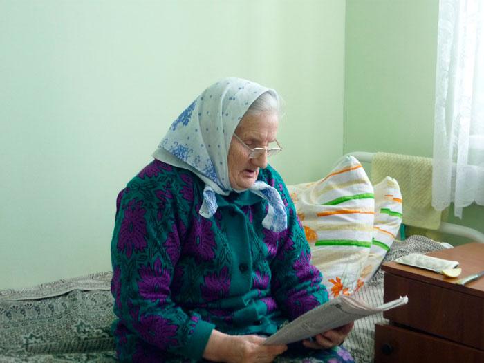 Досуг жителей Новоржевского дома-интерната для престарелых