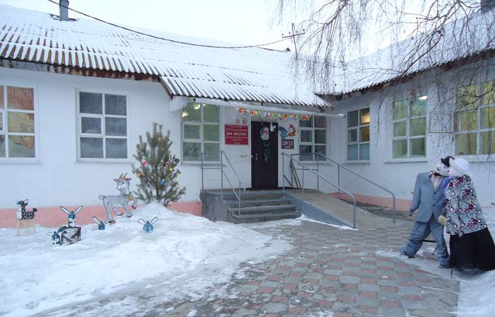 Территория Новоселовского дома-интерната
