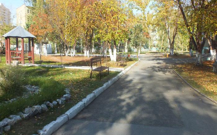 Территория Областного центра социокультурной реабилитации инвалидов