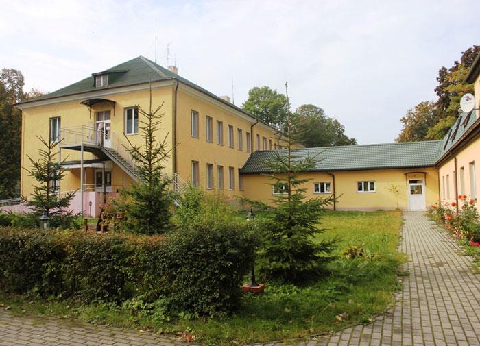 Территория реабилитационного центра «Новые горизонты»