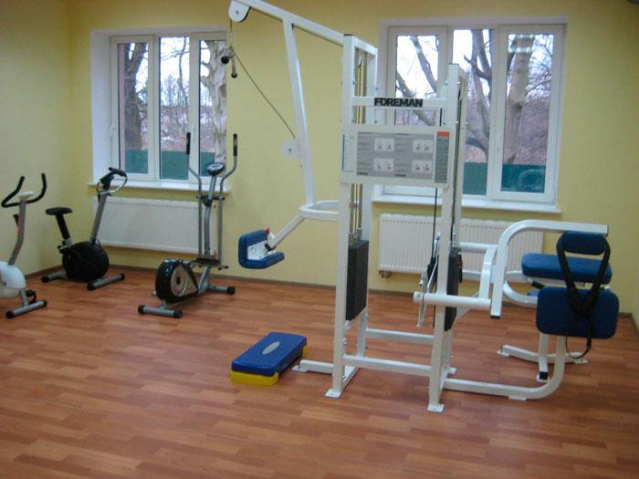 Тренажерный зал реабилитационного центра «Новые горизонты»