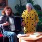 Музыкотерапия жильцов Серебряно-Прудского дома-интерната «Надежда»