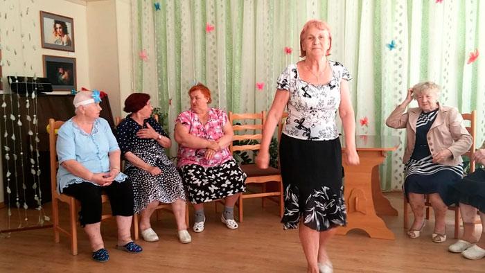 Постояльцы Серпуховского центра реабилитации инвалидов «Меридиан»