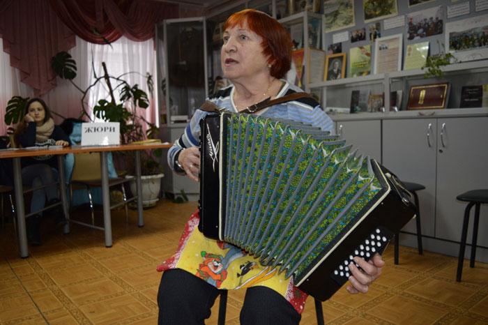 Досуг жильцов Серпуховского дома ветеранов