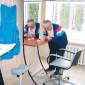 Постояльцы Шатиловского дома-интерната для граждан пожилого возраста