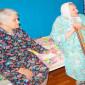 Жильцы Туричинского дома-интерната для престарелых и инвалидов