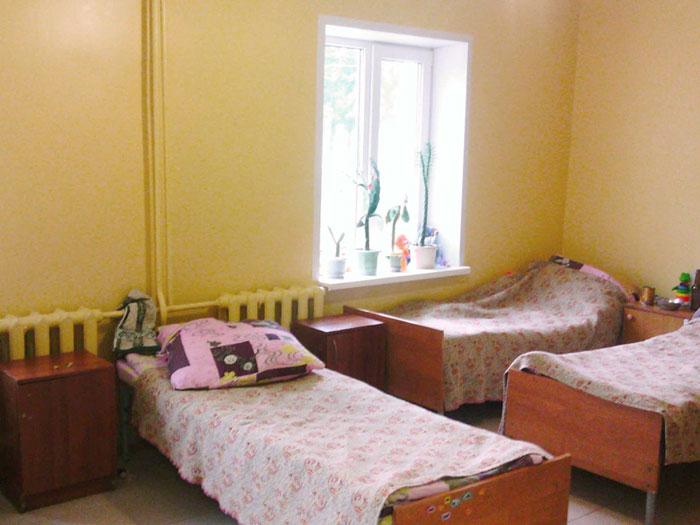 Комната жителей Урицкого психоневрологического интерната
