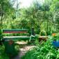 Сад Верейского психоневрологического интерната