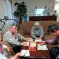 Игра в лото постояльцев Воскресенского дома-интерната малой вместимости