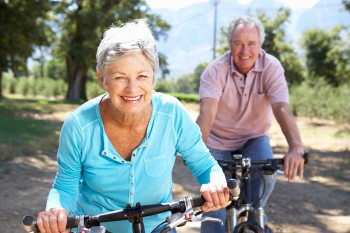 Активный образ жизни пожилых людей