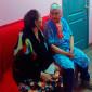 Жильцы пансионата для пожилых «Гармония»