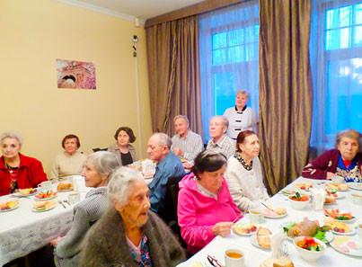 Частные пансионы для пожилых людей