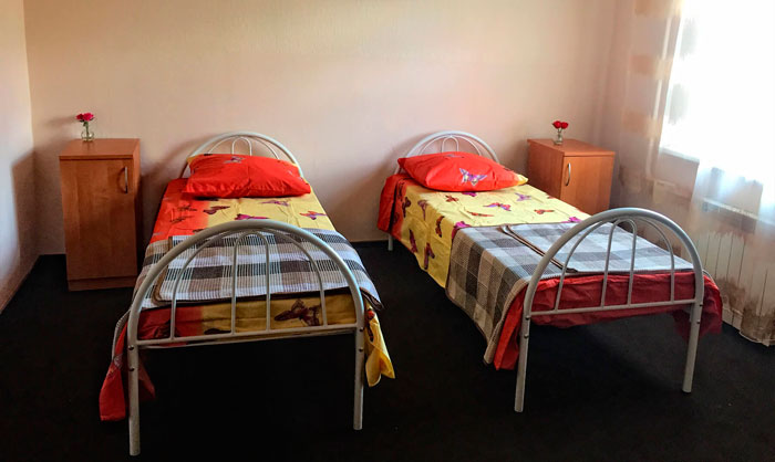 Комната жильцов дома престарелых «Тепло любимых»