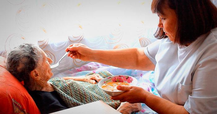 Питание постояльцев дома престарелых «Тепло любимых»