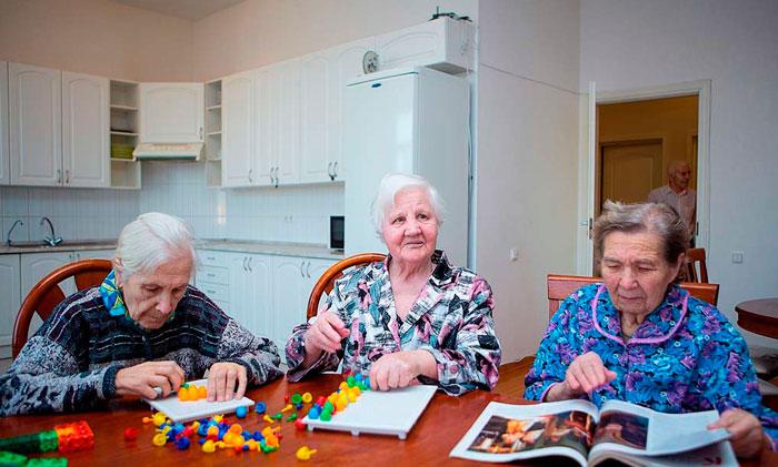 Досуг жильцов дома престарелых «Тепло Любимых» крым