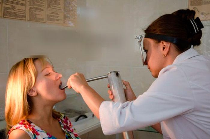 Криотерапия миндалин