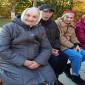 Жители в пансионате «Вечерние беседы» на Красной Глинке