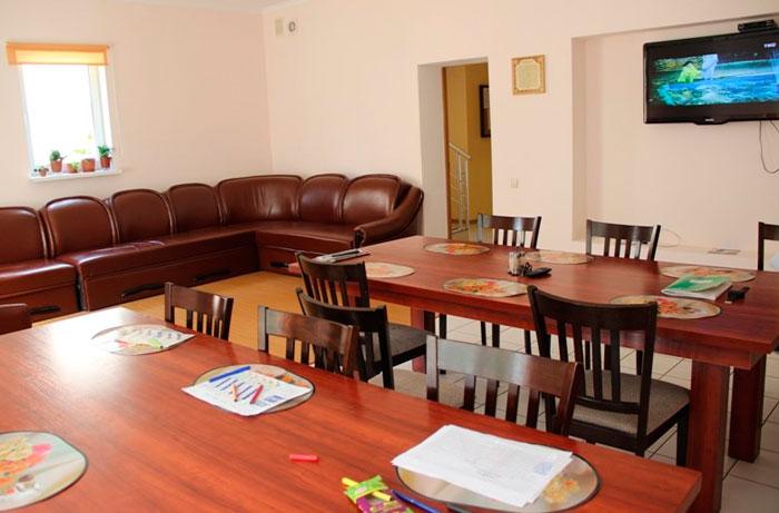 Столовая в пансионате Ставрополь