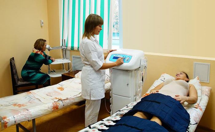 Лечебные процедуры в санатории «Автомобилист»