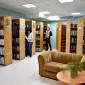 Библиотека в санатории «Березка»