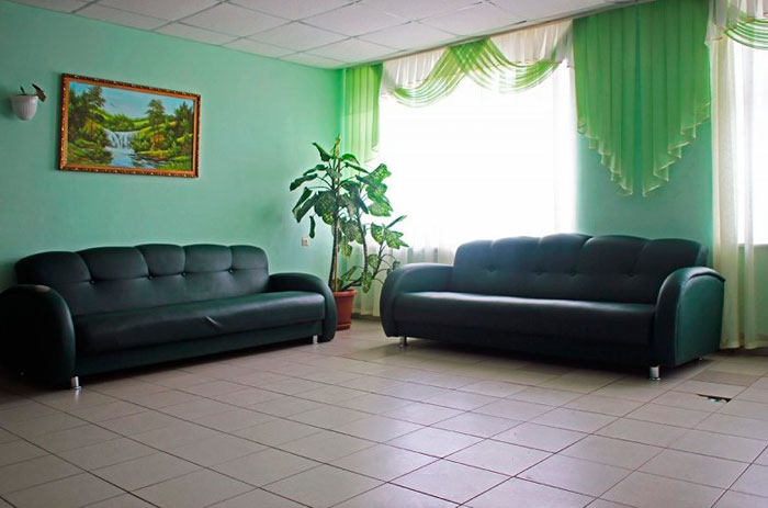 Холл санатория «Кичиер»
