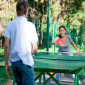 Теннис в санатории «Зеленый город»