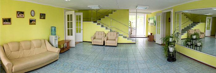 Холл в санатории «Шушенский»
