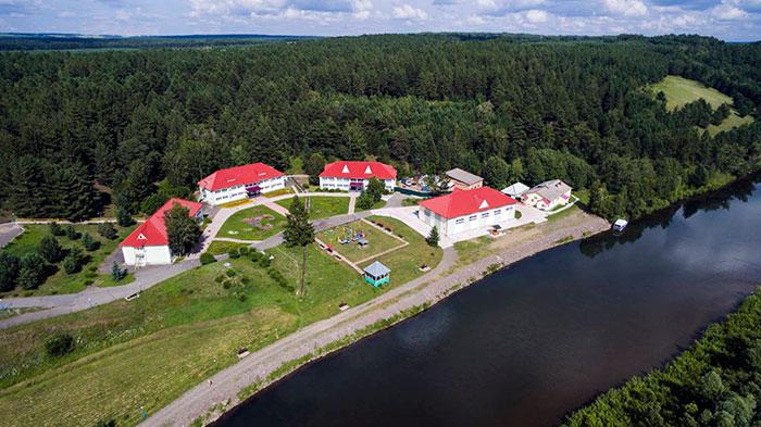Территория санатория «Шушенский»