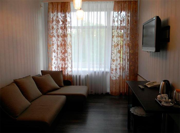 Номер люкс в санатории «Зеленый городок» (Ивановская область)