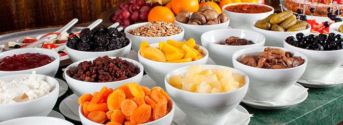 Выбор пищи в санаторных учреждениях