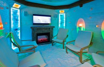 Снежная комната, воздействие на организм