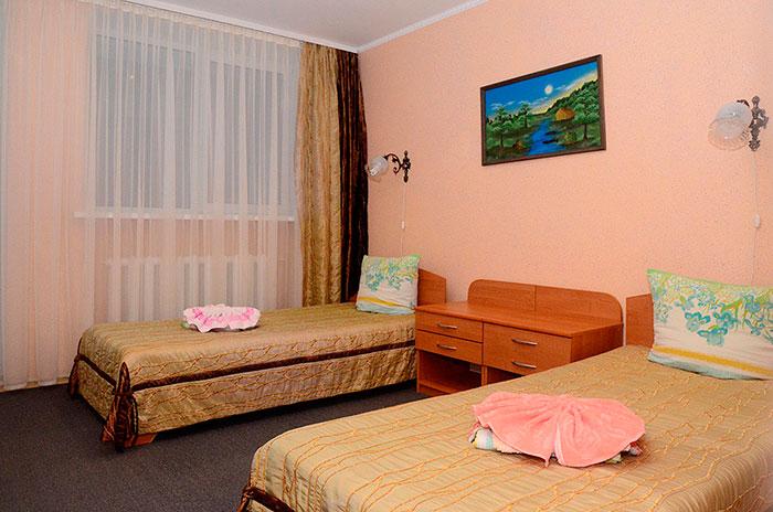 Двухместный номер в санатории «Лесное» (Витебская область)