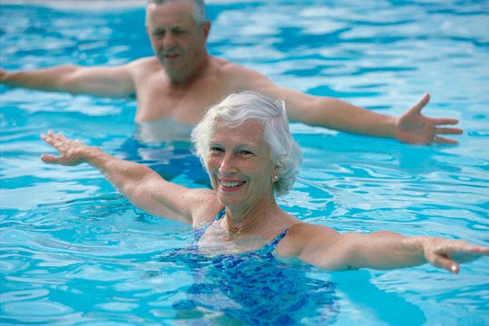 Плавание в пожилом возрасте