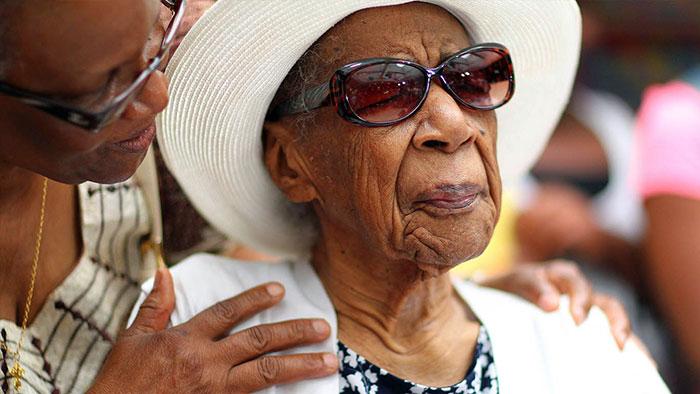 Вайолет Браун - самая старая женщина на Земле